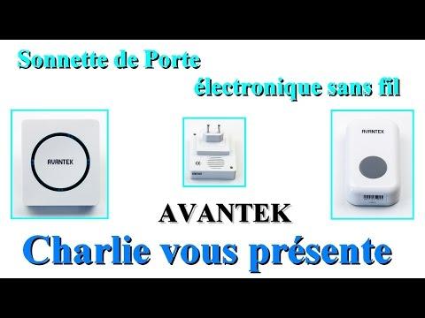 Sonnette De Porte électronique Sans Fil