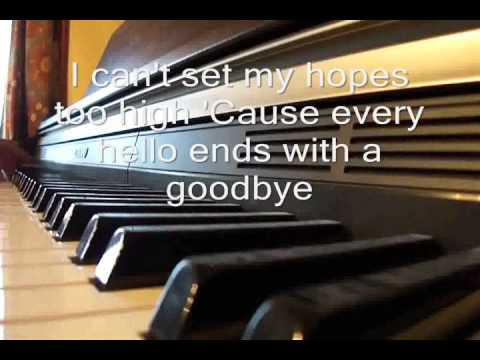 Catch Me Demi Lovato Piano Cover Karaoke/Instrumental With Lyrics