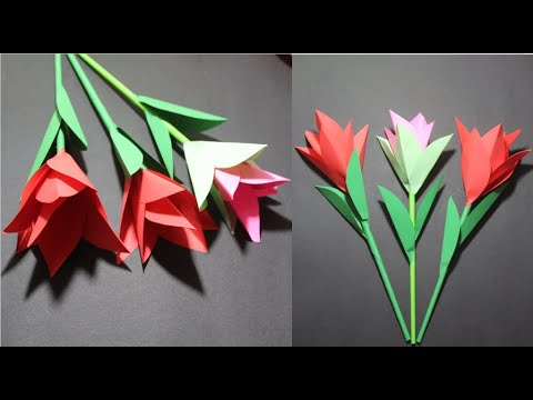 easy-and-beautiful-paper-flowers-|-paper-craft-|-diy-home-decor