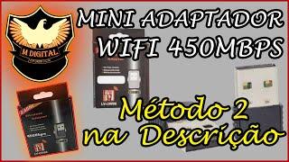 Instalação de Mini Adaptador Wifi 950Mbps