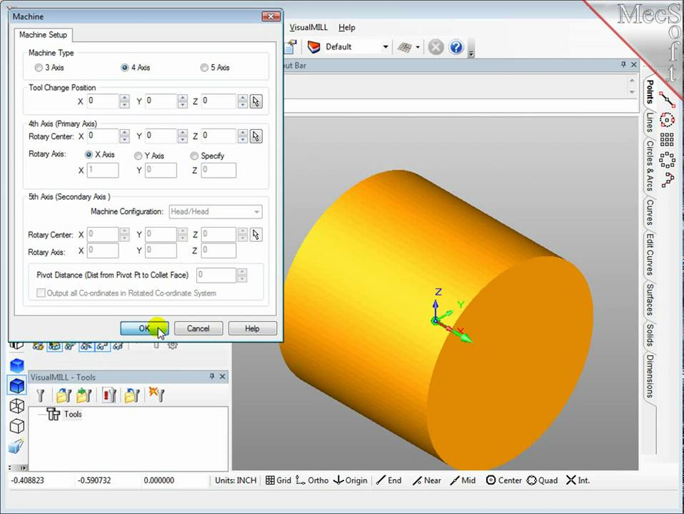 visual mill for solidworks  software