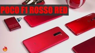 Xiaomi Poco F1 Rosso Red First Look : Pocophone Red