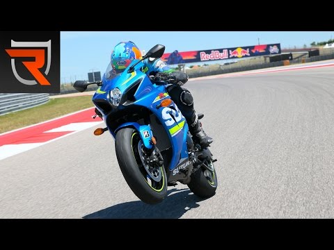 2017 Suzuki GSX-R1000 First Test Review Video | Riders Domain