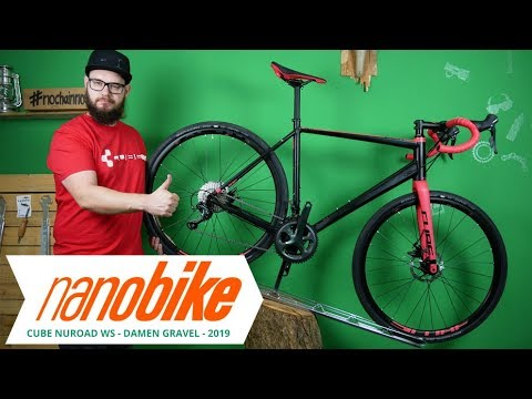 da9c619213d Cube Nuroad WS Damen Gravel Bike 2019 | Review (German | English Sub ...