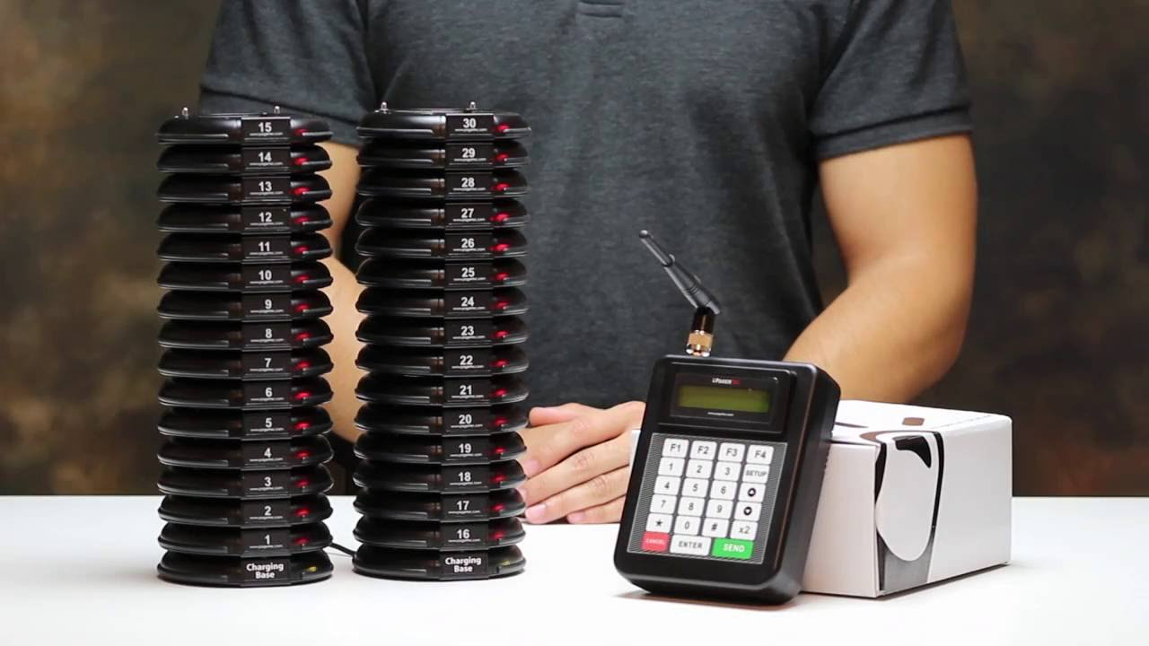 Pagertec - Smart stack coaster paging system