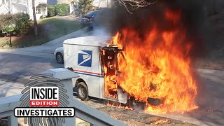 Why Are Mail Trucks Spontaneously Exploding in Flames?