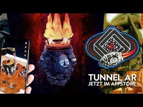 Tunnel AR - Die Augmented-Reality-App der Fantastischen Vier