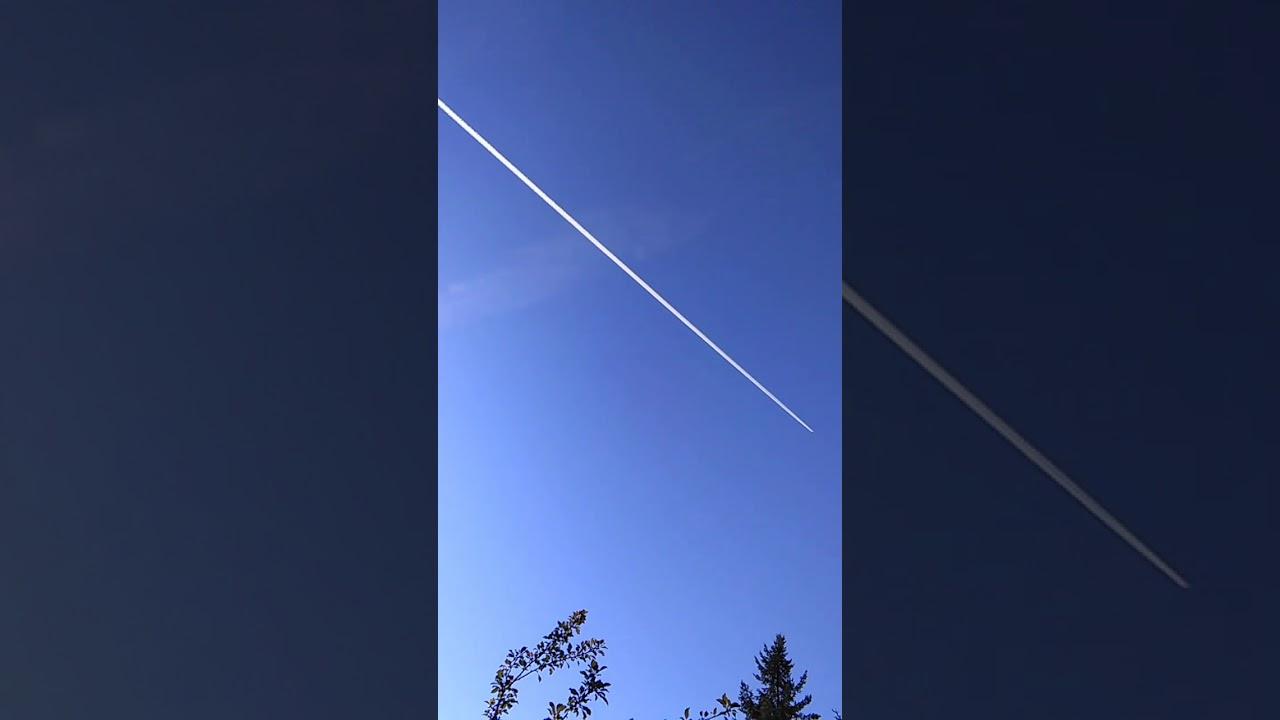 "Chem Trail Plus Parabolic Wave-Form ""Clouds"" NE WA State"