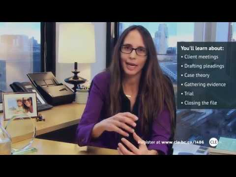 Your Invitation | Civil Litigation Basics 2018