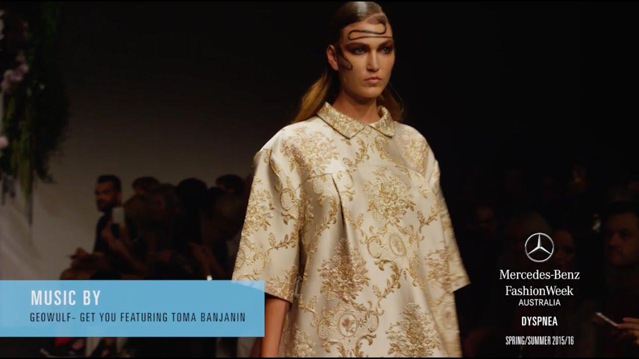 Dyspnea mercedes benz fashion week australia ss 2016 for Mercedes benz fashion