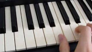 Lost ''There's No Place Like Home'' (Oceanic 6 theme) Keyboard Tutorial
