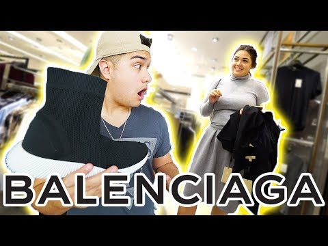 WEARING FAKE BALENCIAGA TO NORDSTROM!! GONE WRONG!!