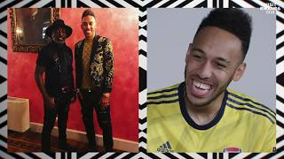 ✨you're The King Of Bling! | Aubameyang, Bellerin & Nelson Chat Fashion | Visit Rwanda