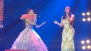 Zephanie hindi nagpatalo kay Regine sa biritan sa kanilang duet | Regine Velasquez walang bayad?