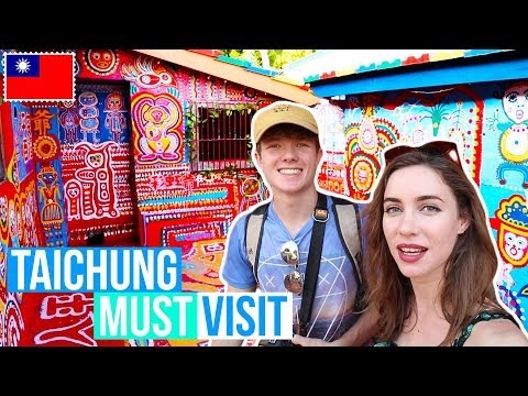 TAICHUNG TRAVEL GUIDE | TAIWAN TRAVEL VLOG | 台灣台中有什麼可以做 | 台灣
