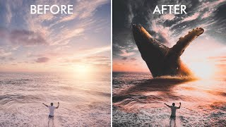 Create an EPIC PHOTO MANIPULATION With Your iPhone
