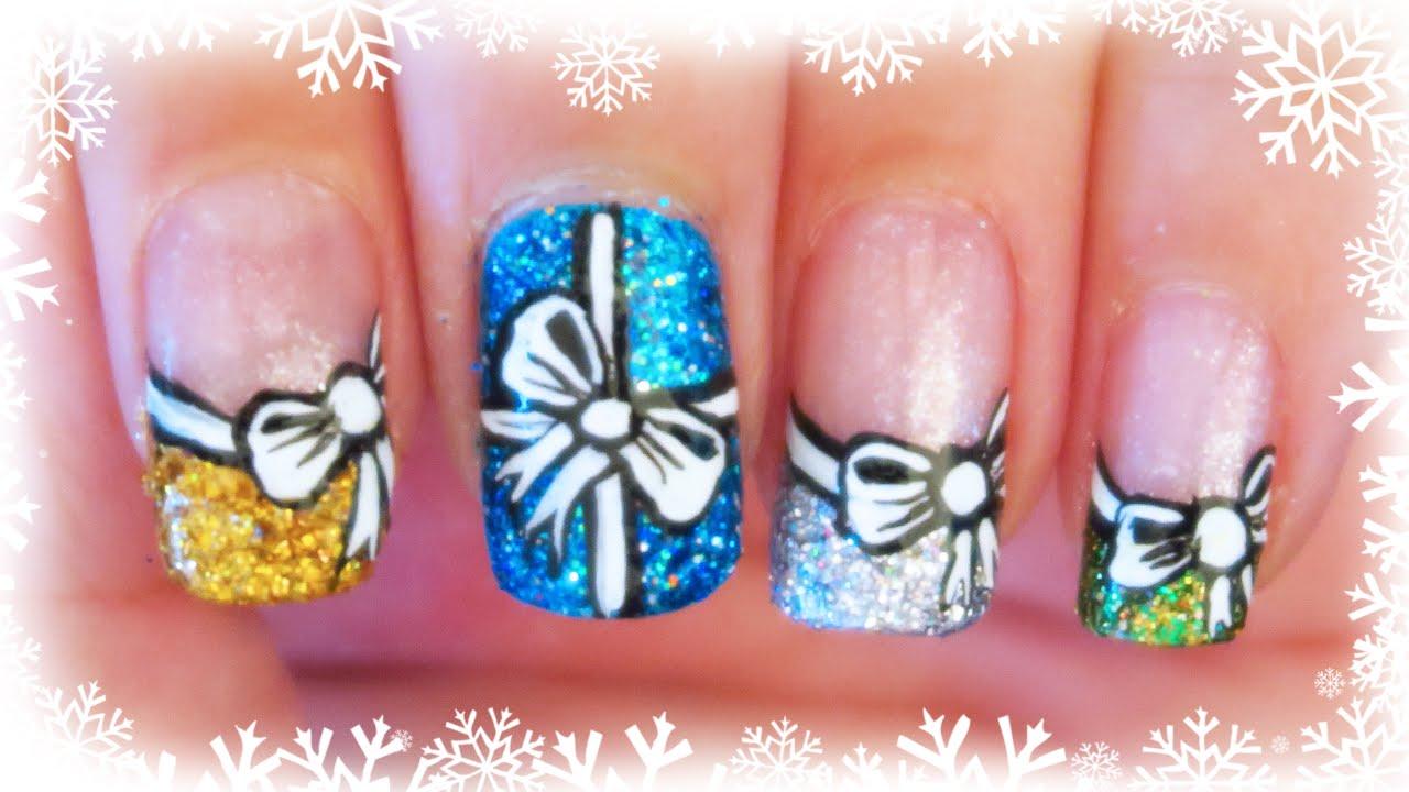 11. Christmas Gifts Nail Art Tutorial | Advent Calendar 2015 ...