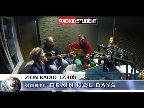 Brain Holidays @ Radio Student 20.1.2014. (Zion Radio)