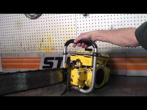 The chainsaw guy shop talk McCulloch Super 797 chainsaw 10 8