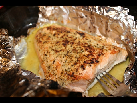 BEST SALMON EVER! | Parmesan, Herb & Garlic Salmon