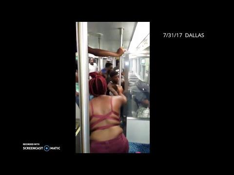 Man Beat by Gang at Deep Ellum DART Station - Dallas