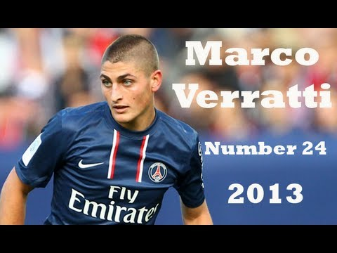 Marco Verratti - Number 24 ✰ HD | 2013 ✰