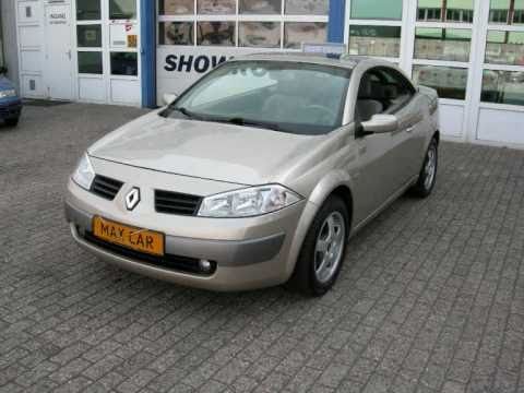 renault megane cabrio 16v c c ede auto auto 39 s youtube. Black Bedroom Furniture Sets. Home Design Ideas