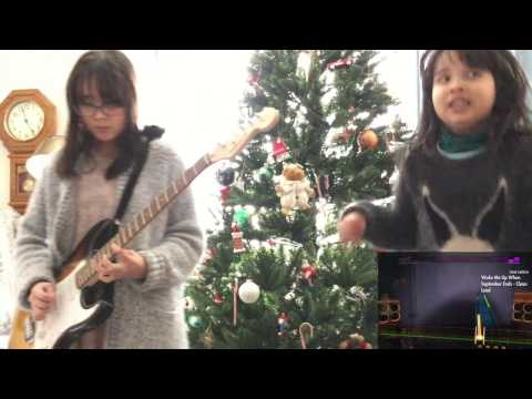 Audrey Plays ROCKSMITH  - Wake Me Up When September Ends - Green Day ロックスミス