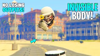 *NEW* HOW TO GËT A FULLY INVISIBLE BODY GLITCH - NO TRANSFER NEEDED! GTA 5 MODDED OUTFIT TUTORIAL