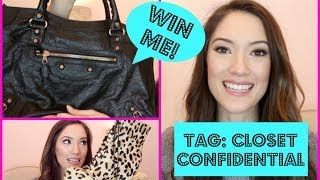 TAG: Closet Confidential + Win A Balenciaga City Bag! | Blair Fowler Thumbnail