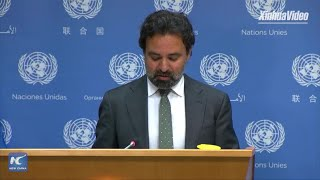 UN General Assembly president saddened by New York mayor's refusal to meet him