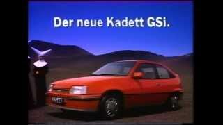 Comercial opel kadett gsi 1984