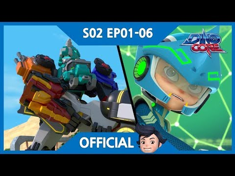 [DinoCore] Official | New Enemy Vito | Pizza Delivery Race | S02 EP01-06