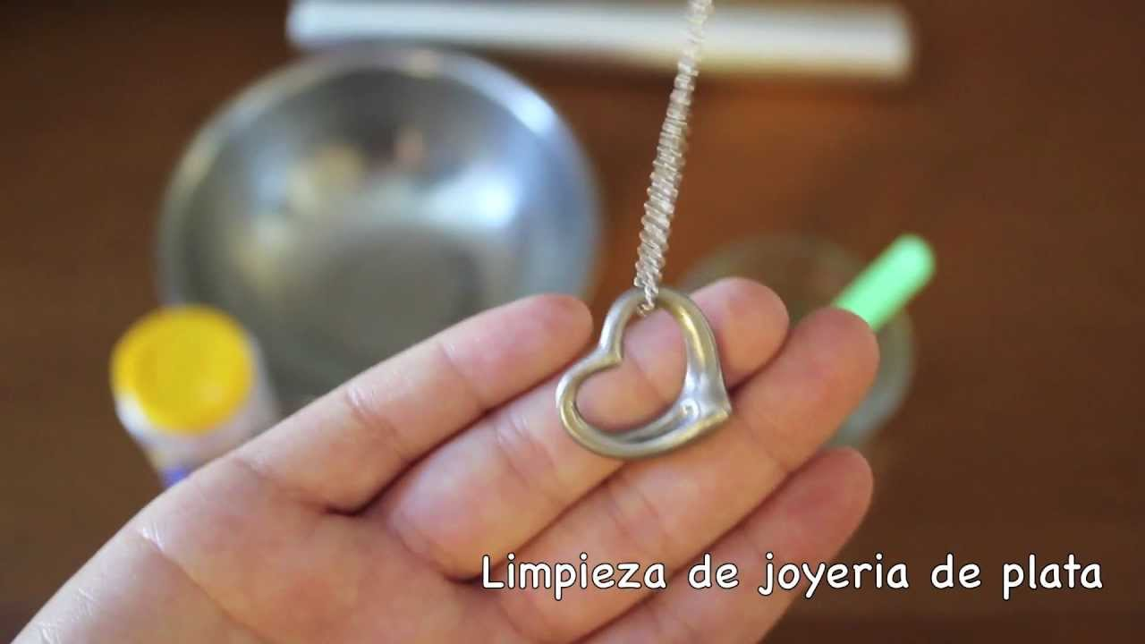 Como limpiar joyeria de plata youtube - Como limpiar la plata para que brille ...