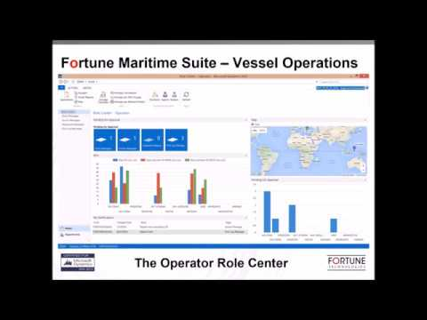 Fortune Maritime Suite - Vessel Operations demo