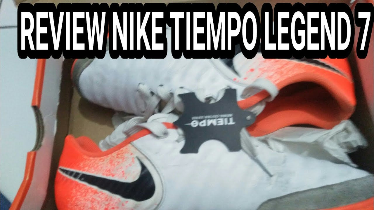 ejemplo Cadena fertilizante  Review Nike Tiempo Legend 7 Futsal Original - YouTube