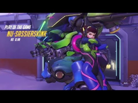 Overwatch how to kill Reinhardit 101 with Dva Ultimate