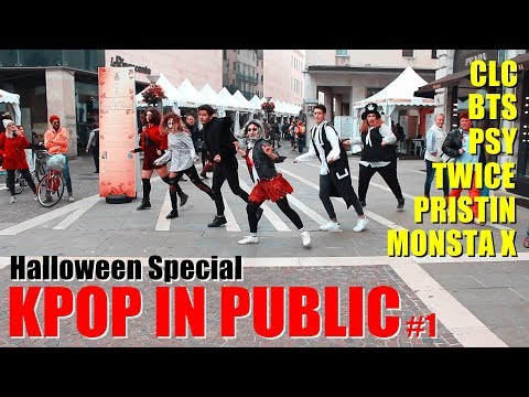[Halloween Special] KPOP IN PUBLIC Challenge #1 | Random Age from ITALY