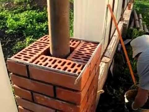 видео: кладка кирпичных столбов