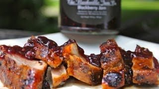 Blackberry Glazed Pork Tenderloin Recipe