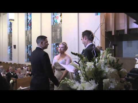 Audra and David - Wedding Ceremony at First Presbyterian Church