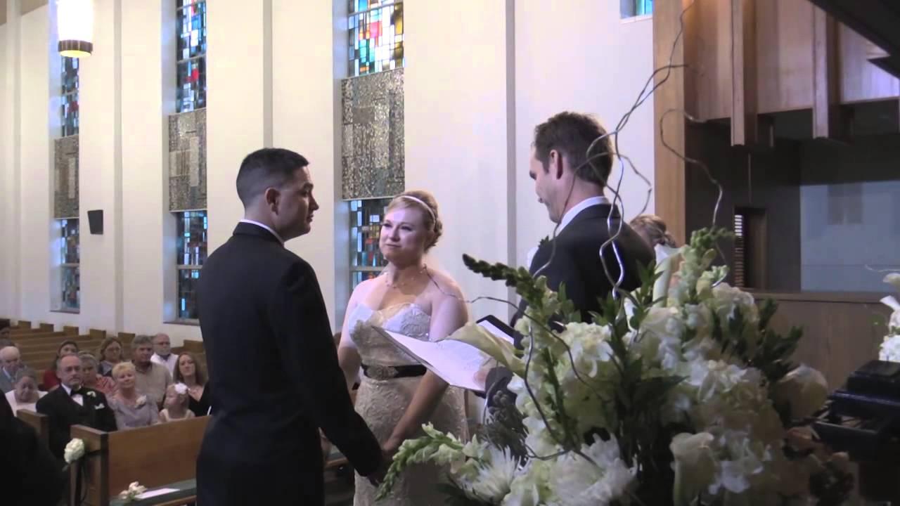 Audra And David Wedding Ceremony At First Presbyterian Church
