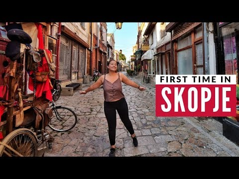 Europe's Most Unusual City | First Time In Skopje & Macedonian Food | Full Time Travel Vlog 25