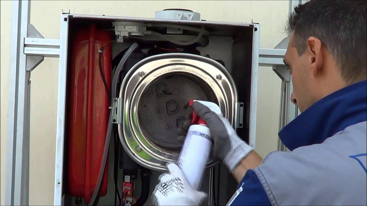 Instructivo de uso kit de limpieza para calderas de
