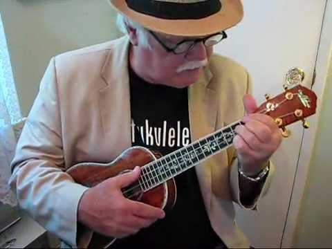 MY BLUE HEAVEN for the UKULELE - UKULELE LESSON / TUTORIAL  by