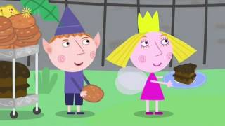 ben and holly's little kingdom -The Queen bakes cakes