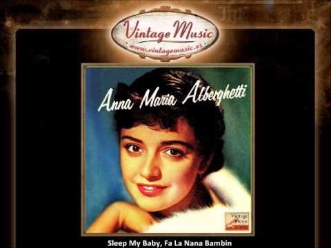 Anna Maria Alberghetti -- Sleep My Baby, Fa La Nana Bambin (VintageMusic.es)