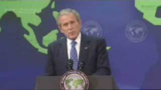 Bush admits possibility of a Depression worse than 1930's