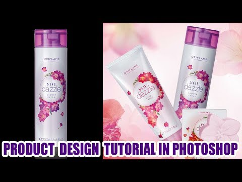 Product  Design Tutorial in Photoshop | Cosmetic Product Advertisement-oriflame