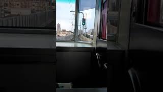 遠州鉄道1000形モハ1003前面展望